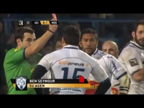Ben Seymour Red Card