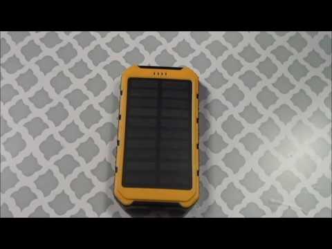 Solar Wifi Powerbank