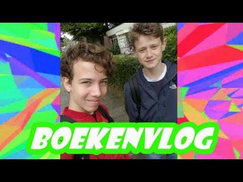 Boekenvlog Xander en David -Nederlands MA4F-