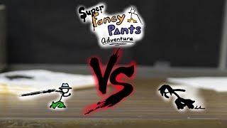 Super Fancy Pants Adventure - O doppelganger de tinta - Boss fight