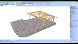 Leica 3D disto, software SEMA, software RSTAB wood construction