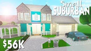BLOXBURG BUILD | SMALL SUBURBAN HOME | Roblox Building
