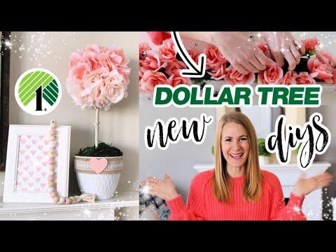 *NEW* Dollar Tree 2020 - DIY Amazing Decor Hacks For Valentine's + Spring