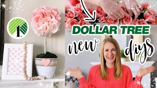 *NEW* Dollar Tree 2020 - DIY Amazing Decor Hacks for Valentine's + Spring
