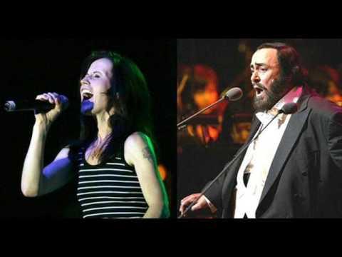 Dolores O`Riordan and Pavarotti Ave Maria