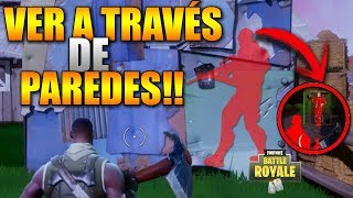 HOW TO SEE THROUGH THE WALLS *WITHOUT HACKS* INVISIBLE WALLS . . . . . . . . . . . . . . . . . . . . . . . . . . . . . . . . . . . . . . . Fortnite Battle Royale