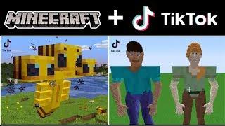 The Best & Funniest Tik Tok Minecraft Videos Compilation! (Part 5)