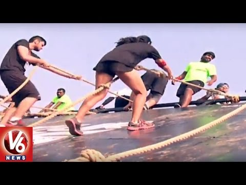 Devils Circuit In Hyderabad | India´s Biggest, Baddest, & Muddiest Obstacle Run | V6 News