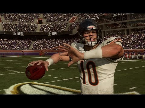 NFL Thursday Night Football 8/2 - Bears vs Ravens Full Hall of Fame Preseason Game (Madden 19)