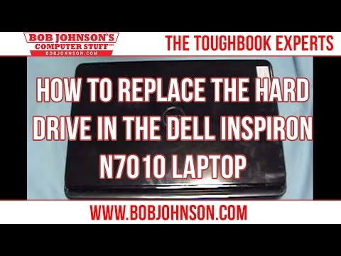 How To Replace The Hard Drive In The Dell Inspiron N7010 Laptop
