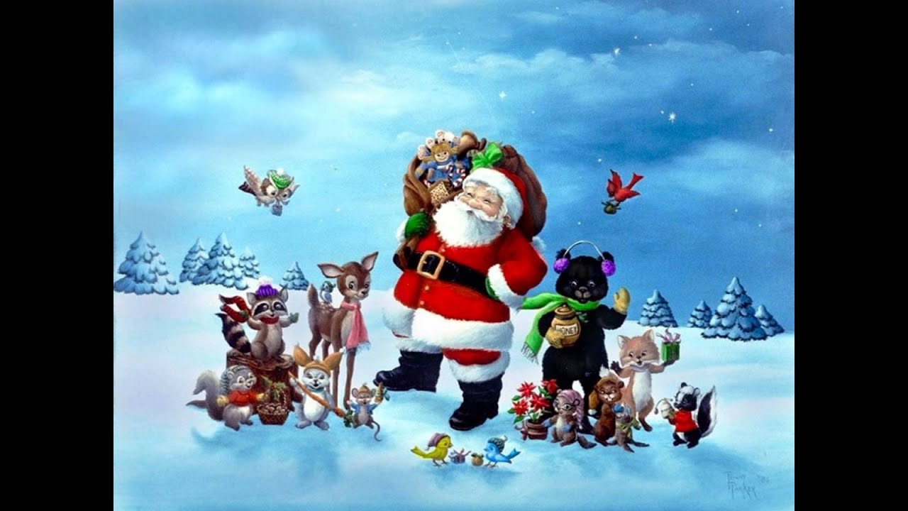 animals christmas song - YouTube