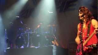 """STEEL PANTHER WITH KENNY ARONOFF ON DRUMS """"YOU REALLY GOT ME"""" VAN HALEN HOUSE OF BLUES 7/23/2012"""