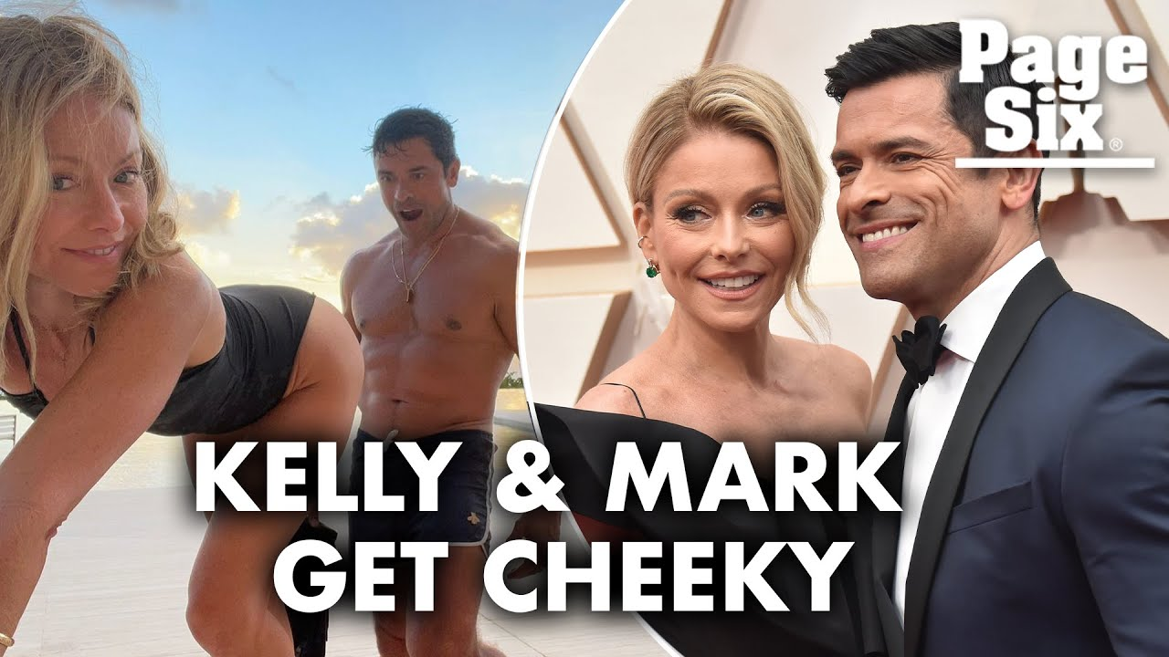 Kelly Ripa shows off her backside for Mark Consuelos in cheeky ...