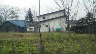 月ヶ岡駅~中小屋駅(沿線風景)