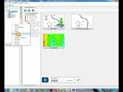 Visual Modflow Flex Full Tutorial for beginner to Groundwater flow Modeling by Vivekanand