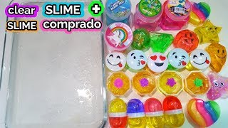 store bought slime and putty