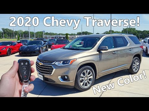2020 Chevy Traverse Premier | Full Tour + Changes for 2020!