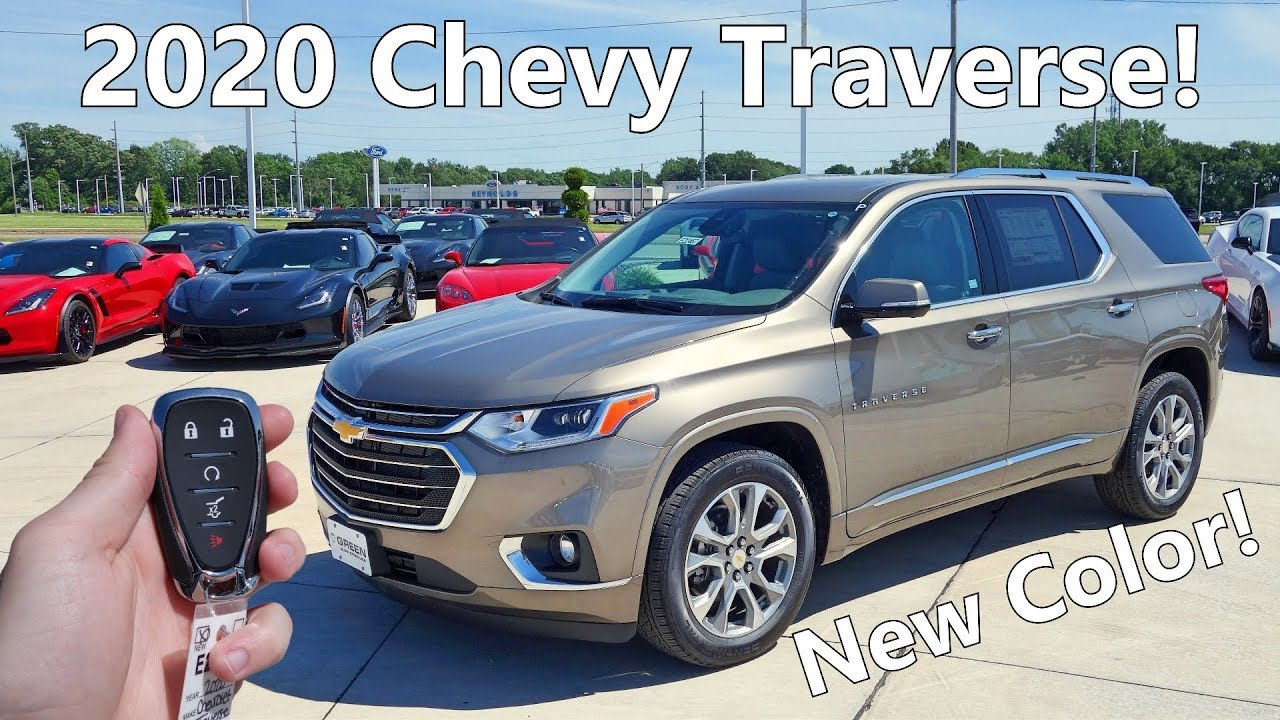 2020 Chevy Traverse Premier | Full Tour + Changes for 2020 ...