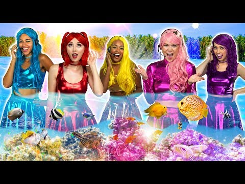 THE SUPER POPS – INTO THE UNKNOWN   MAGIC MERMAID SONG Totally TV s for Teens