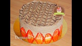 Gâteau Despacito revisité avec des fraises - Miss Marta