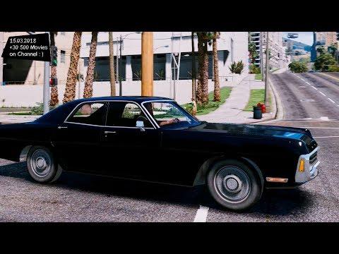 Rusty 71 Dodge Polara Civilian and Ex Police 0.5 Grand Theft Auto V MGVA Modification