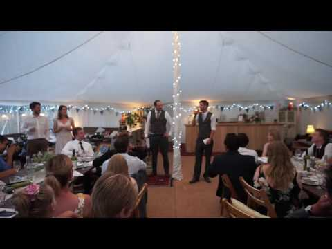 Brother of the Groom/Best Man's Speech by Tim Hooper (Amy & Greg's Wedding, 27th August 2016)
