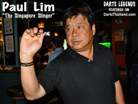 Darts Legends HD - 63 Year Old Paul Lim - World Cup of Darts 2017