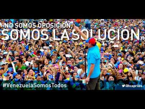 Venezuela Somos Todos - (Canción Oficial + Letra) - Campaña Henrique Capriles 2013