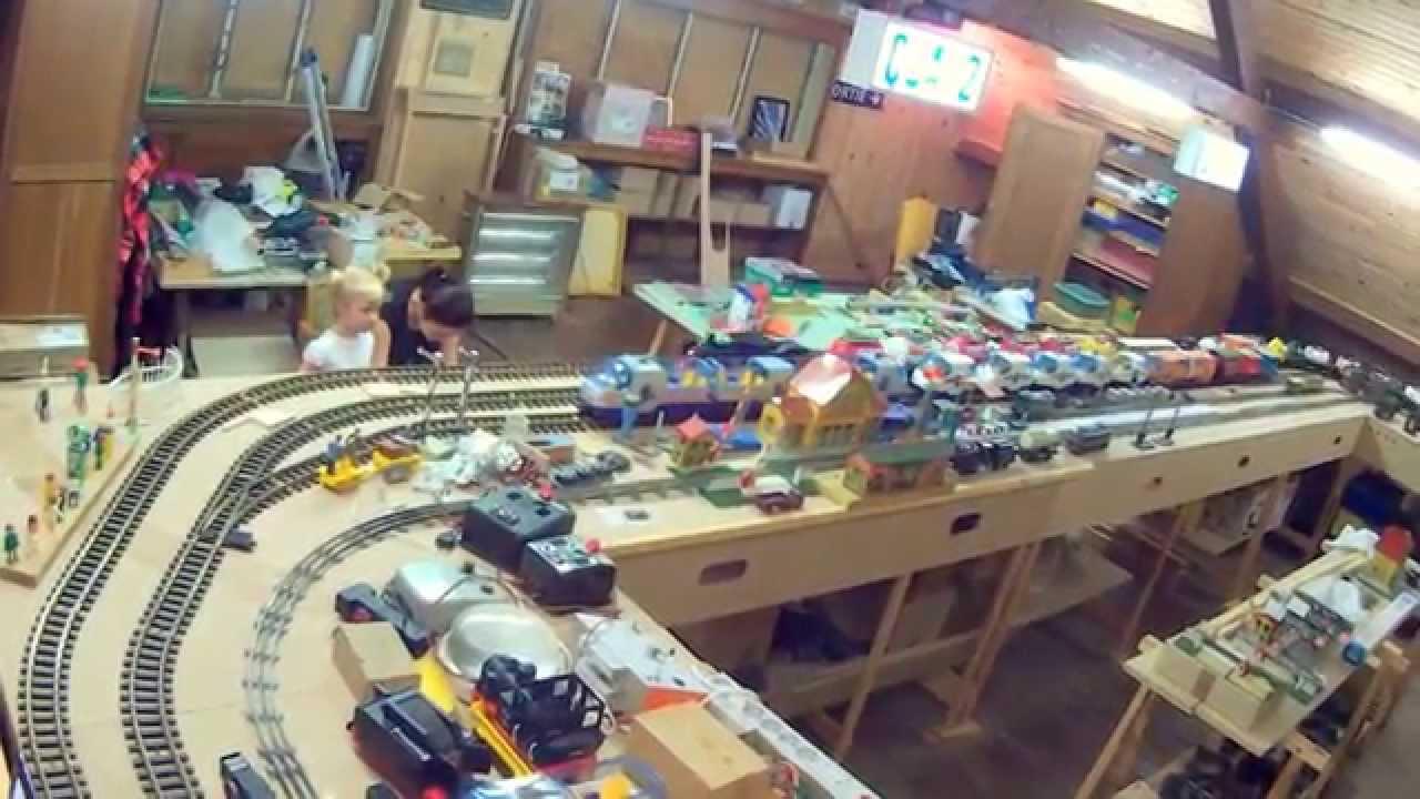 2014 08 02 trains playmobil nounours 55 n 15 ensemble du - Train playmobil ...