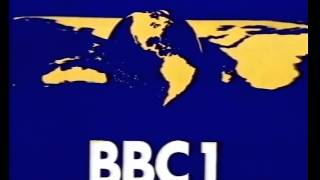 80s and 90s TV Continuity: BBC Globe - Not the Nine O'clock News