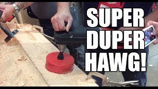 Milwaukee Super HAWG 18V Hole Drill - The Clapper