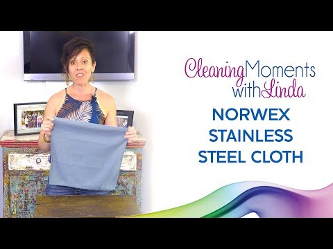 Norwex Stainless Steel Cloth - Mini Moment with Linda