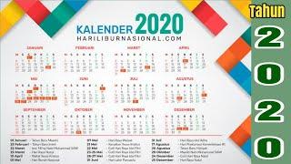 Gambar cover Jadwal tanggal merah dan cuti bersama hari raya idul Fitri dan natal tahun 2020/kalender2020