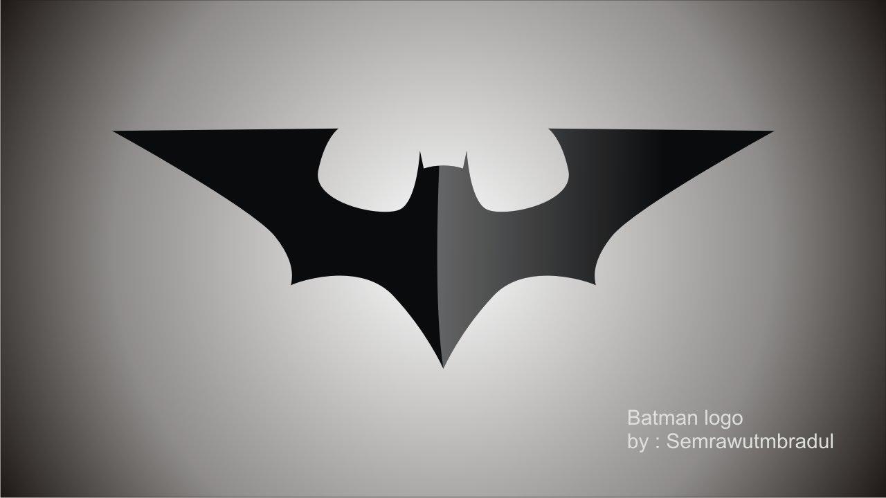 Draw Batman Logo In Coreldraw Youtube