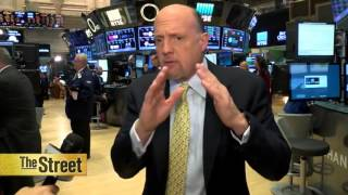 Jim Cramer Is Watching Amazon, Alphabet and Microsoft