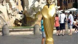 видео Фонтан четырех рек в Риме