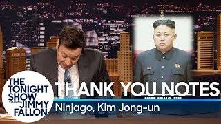 Thank You Notes: Ninjago, Kim Jong-un thumbnail