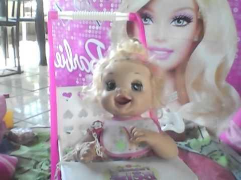 Rebeca E Sua Baby Alive Hora Do Troninho Youtube