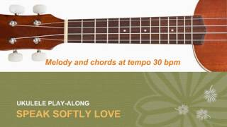 "BEST Ukulele Lesson - Speak Softly Love (Theme From""The Godfather"") - Ukulele Solo Play A-Long w/TAB"