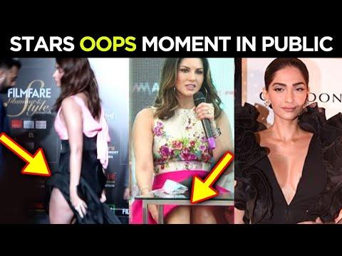 Download Alia Bhatt, Sonam Kapoor, Sunny Leone, Shilpa Shetty, Alanna Panday OOPS Moment In PUBLIC