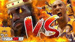NBA 2K19 WHOSE THE KING OF LA?!! LEBRON JAMES VS KOBE BRYANT