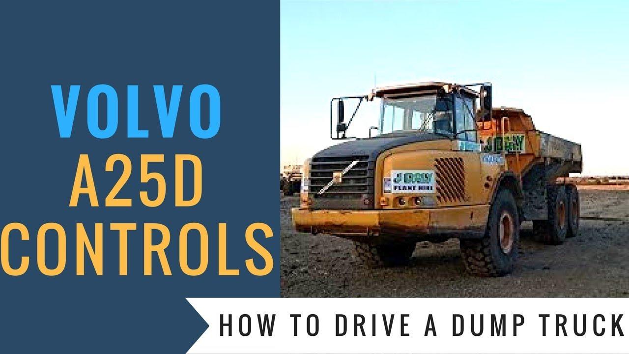 volvo a25d dump truck basic controls youtube rh youtube com volvo a25 service manual volvo a25c service manual pdf