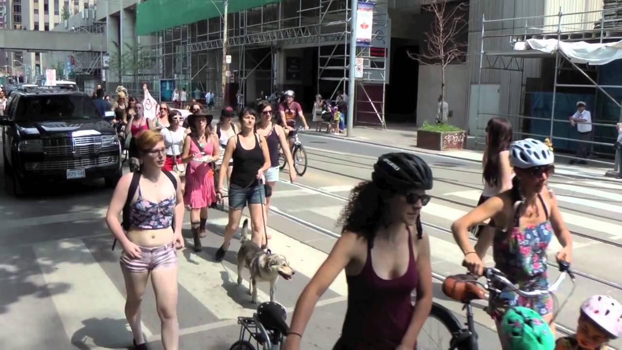 Think, that Toronto slut walk photos can look