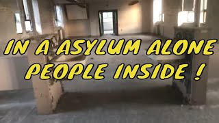 In another asylum ALONE ???