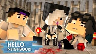 Minecraft: HELLO NEIGHBOR - A FILHA DO VIZINHO NOS RESGATOU   EP 4