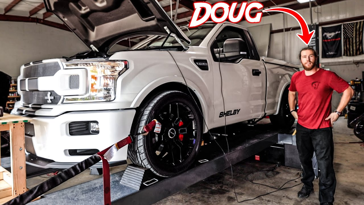 The Shelby Truck's First Mods & Dyno Pulls! *tuned by Doug*