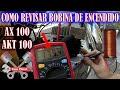 como revisar la BOBINA DE ENCENDIDO suzuki AX 100 AKT 100 | ToroMotos