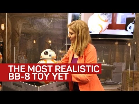 This lifelike BB-8 toy follows your voice commands