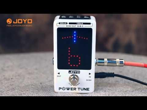 Joyo PowerTune JF-18R Official video demo
