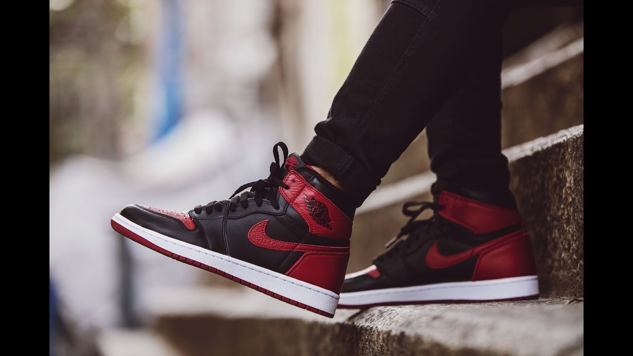 Nike Air Jordan 1 BRED / Banned - Unboxing and On Feet Review
